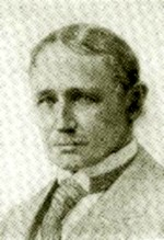 etching of Frederick Winslow Taylor