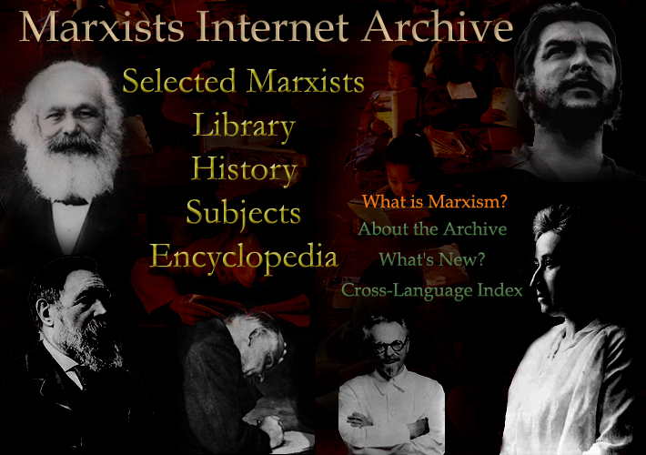 Marxists Internet Archive